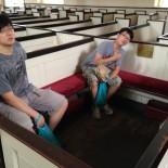 Jay & Joseph at Christ Church where G. Washington and John Adams once sat